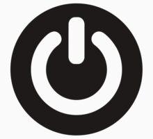 Power button symbol by Designzz