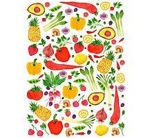 Fruit and veg Photographic Print