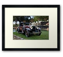 1928 Packard 526 Convertible Coupe I Framed Print
