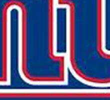 New York Football Giants Throwback Logo Sticker