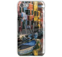 Challenges 02 - Colors of Burano iPhone Case/Skin