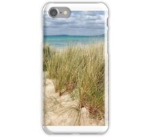 sea grass and sand iPhone Case/Skin