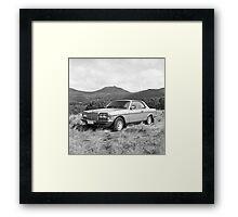 German Coupe Framed Print