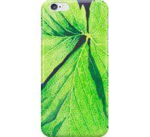 Strawberry Leaf #1 iPhone Case/Skin