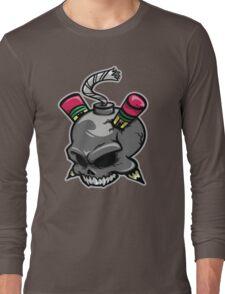 Create or Destroy Logo Long Sleeve T-Shirt