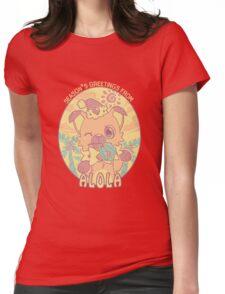 Jingle Bell Rockruff Womens Fitted T-Shirt