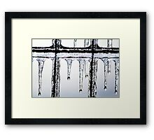 Hang in there~ Framed Print