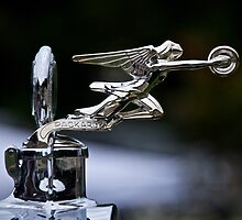 1928 Packard 526 Convertible Coupe Hood Ornament by DaveKoontz