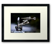 1928 Packard 526 Convertible Coupe Hood Ornament Framed Print