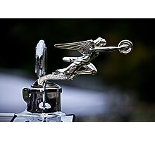 1928 Packard 526 Convertible Coupe Hood Ornament Photographic Print