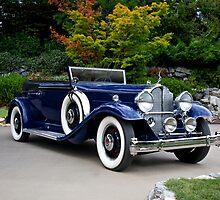 1932 Packard Victoria Convertible II by DaveKoontz