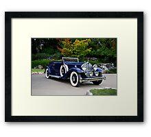 1932 Packard Victoria Convertible II Framed Print