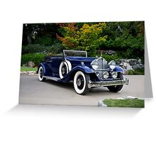 1932 Packard Victoria Convertible II Greeting Card