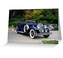 1932 Packard Victoria Convertible II Greeting Card