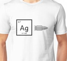 Silver Bullet - Periodic Table T-Shirt Unisex T-Shirt