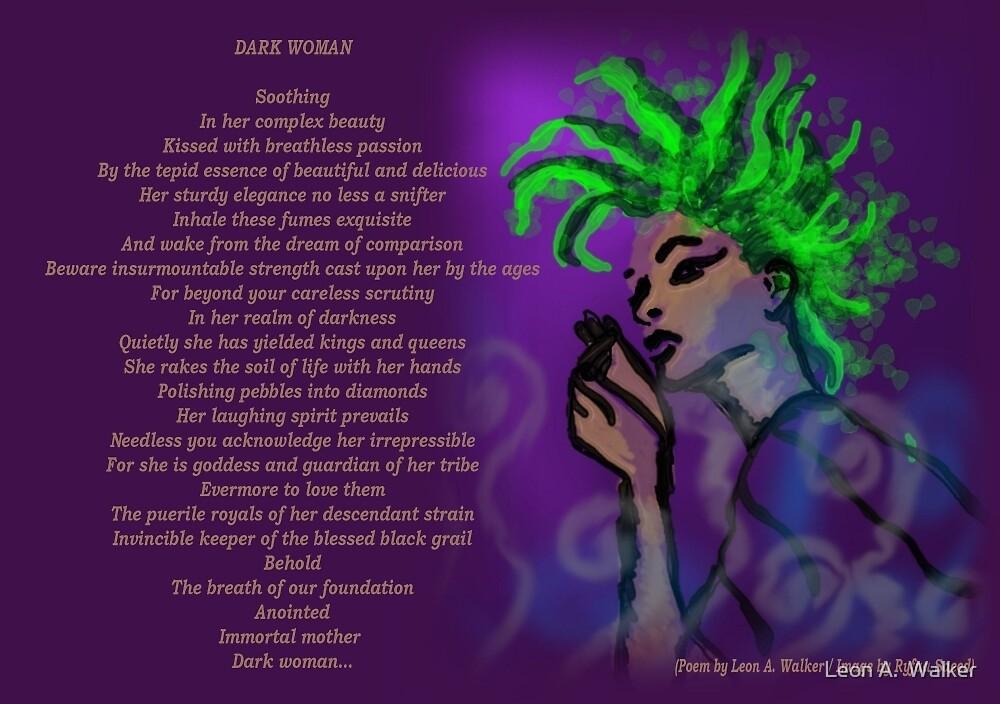 Dark Woman by Leon A.  Walker