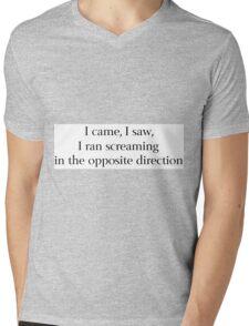 Conqueror Mens V-Neck T-Shirt