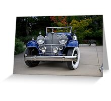 1932 Packard Victoria Convertible III Greeting Card