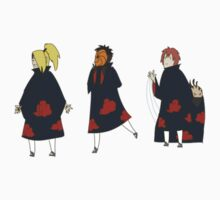 Naruto Sticker Set - Deidara Tobi Sasori by Cycha