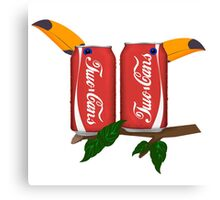 Two Cans Canvas Print