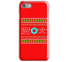 A Melee Christmas! iPhone Case/Skin