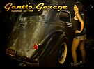 Gantt's Garage 36 Sedan Roomy Calendar Page by ChasSinklier