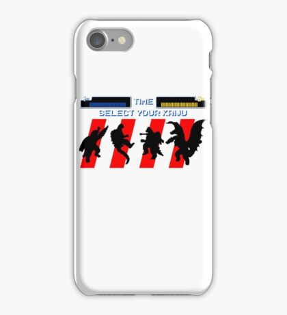 Select your Kaiju (Silhouettes) iPhone Case/Skin