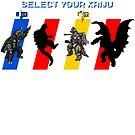 Select your Kaiju (Selection B) by Funkymunkey