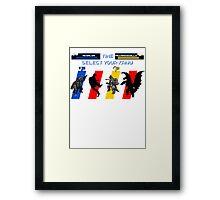 Select your Kaiju (Selection B) Framed Print