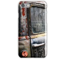 Rusty iPhone Case/Skin