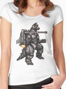 Super Mechagodzilla Women's Fitted Scoop T-Shirt