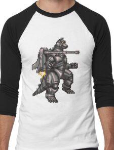 Super Mechagodzilla Men's Baseball ¾ T-Shirt
