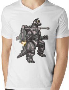 Super Mechagodzilla Mens V-Neck T-Shirt
