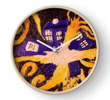 Tardis Van Gogh Clock