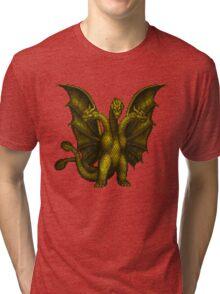 King Ghidorah Tri-blend T-Shirt