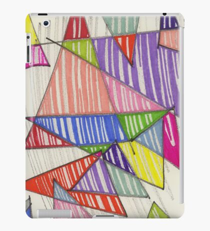 triangle-2011/01 iPad Case/Skin