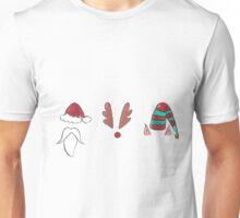 Santa, Rudolph and an Elf Walk into a bar... Unisex T-Shirt