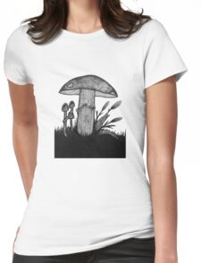 The Forgotten Kingdom Womens Fitted T-Shirt