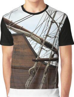 Port of Barcelona Graphic T-Shirt