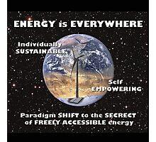 Sustainable Energy Photographic Print