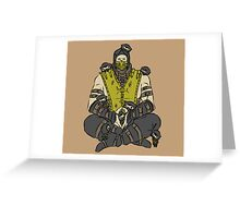 The Shirai Ryu Greeting Card