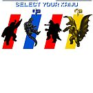 Select your Kaiju (Selection A) by Funkymunkey