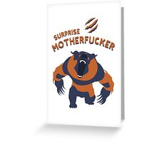Ursa shirt dota2  Greeting Card
