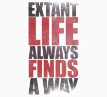 EXTANT - Life Always Finds a Way by nardesign