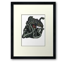 Biollante Framed Print