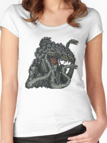 Biollante Women's Fitted Scoop T-Shirt