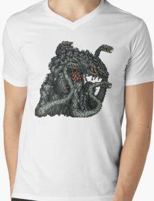 Biollante Mens V-Neck T-Shirt