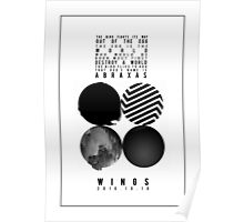 BTS Wings Poster