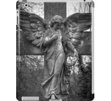 Angel on a Cross iPad Case/Skin