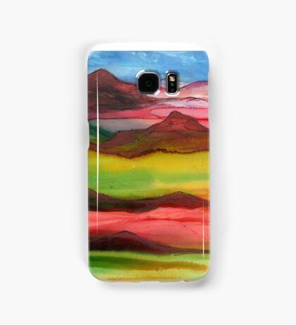 """Mountainscape"" - Original, Unique Artist's Design! Samsung Galaxy Case/Skin"
